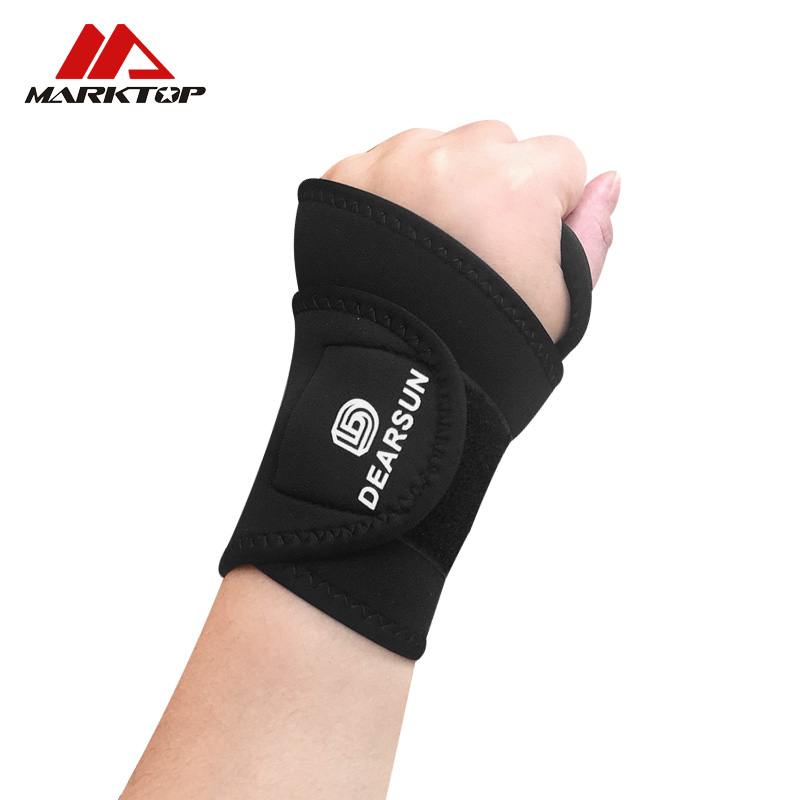 1PCS Sports Wrist Band Strap Adjustable Athletic Brace Support for Carpal Tunnel Tendonitis Weightlifting