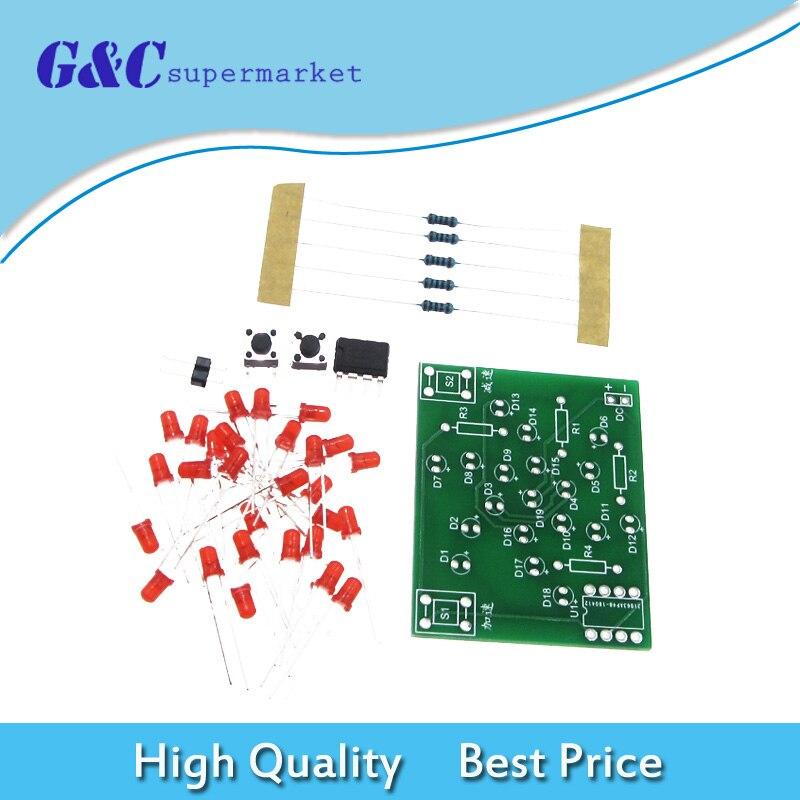 DIY Kits Electronic Windmill Singlechip DIY Kit of Parts Han