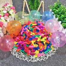 50 шт водяных шаров с запасными комплектами, латексные водяные бомбы воздушные шары бои игры-Лето Всплеск развлечения для детей и взрослых