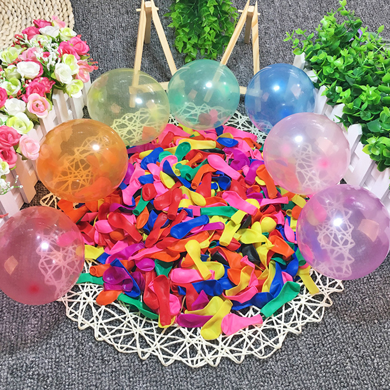 50 PCS Water Balloons With Refill Kits, Latex Water Bomb Balloons Fight Games - Summer Splash Fun For Kids & Adults