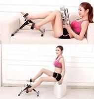 Leg exercise equipment home mini upper and lower limb rehabilitation device folding exercise bike fitness machine for stepper