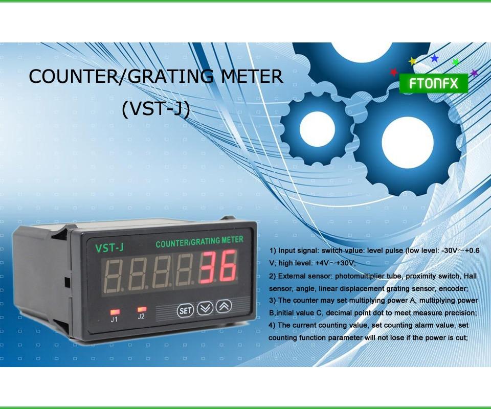 Compteur de VST-J/compteur de réseau, compteur numérique, compteur de réseau numérique, garanti 100%