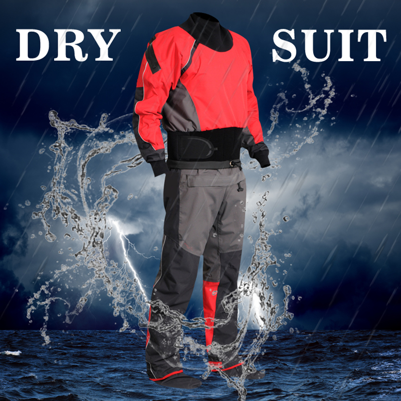 Mens Canoe Kayak Surf Drysuit Comfort Durability Protects Against Ingress of Water Mud Perfect Dry Suit for Fit ATV & UTV Riders