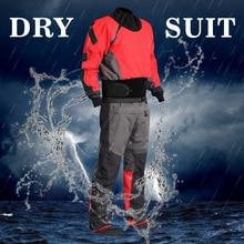 Мужские каноэ каяк Surf Drysuit комфорт прочность защищает от попадания воды грязи Идеальный сухой костюм для Fit ATV и UTV всадников