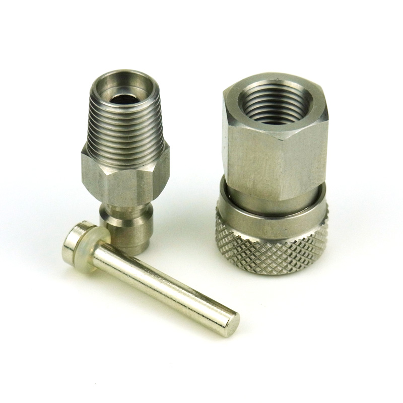 Quick Disconnect With One Way Foster Fill Nipple Kit3