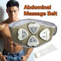1pcs Gymnic Gymnastic Body Building ABS Belt Electronic AB Exercise Toning Toner Waist Muscle Wholesale Electronic