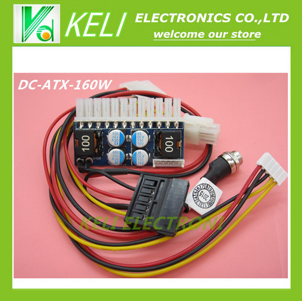 1PCS LOT DC ATX 160W 160W Power Supply Module 24pin mini ITX DC ATX power