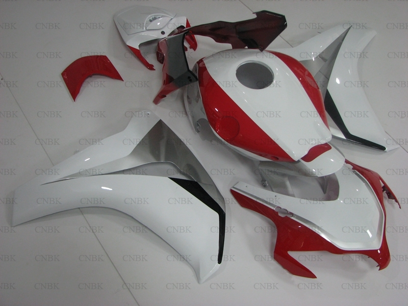 for Honda Cbr1000 RR 2008 2011 Plastic Fairings CBR1000RR 10 11 White Red Fairings CBR1000RR 08