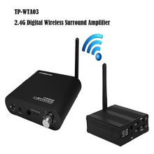 TP-WIRELESS Wireless Digital Rear Stereo Surround Audio Home Theater Amplifier for 5.1 System Solving Wire Problem