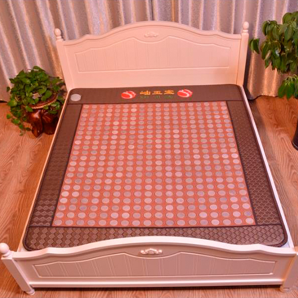 High Quality Health Care Hot Stone Jade Heating Cushion Hot Stone Jade Heating Pad Bed Mattress 1.2X1.9M Free Shipping new style popular in thailand health care hot stone tourmaline heating bed jade heating pad bed mattress as seen on tv
