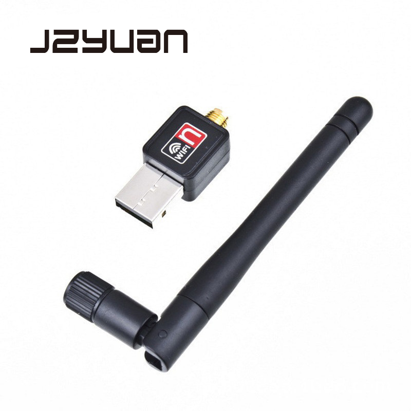 JZYuan High Speed USB Wifi Adapter 150Mbps 2dB Antenna USB Wi-fi Receiver Wireless Network Card 802.11b/n/g For Computer Laptop