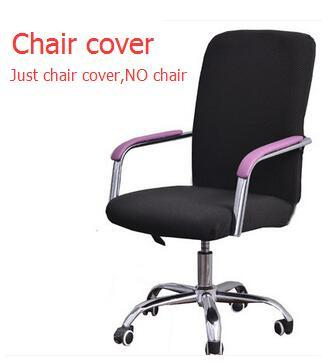 Swivel Chair Covers 400 Lb Capacity Folding Office Computer Slip Cover One Piece Elastic