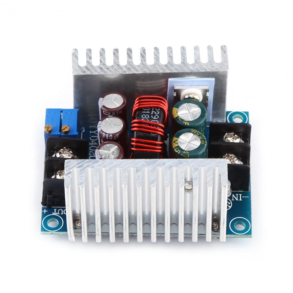 20A DC-DC Buck Converter Step-down Module 300W  Constant Current LED Driver Adjustable Power Supply 6V to 40V DC 1pcs lm2596 dc dc step down adjustable cc cv power supply module led driver