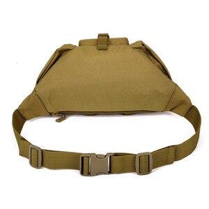 Image 5 - חדש גברים ירך חבילות חיצוני עמיד למים תיק זכר טקטי מותן תיק Molle מערכת פאוץ חגורה Bagpack ספורט שקיות צבאי