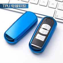 New TPU car key fob cover case protect for Mazda 2 mazda 3 mazda 5 mazda 6 CX-3 CX-4 CX-5 CX-7 CX-9 Atenza Axela MX5 Car styling