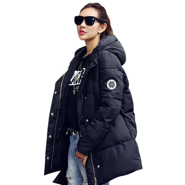 New Long Parkas Female Women Winter Coat Thickening Cotton Winter Jacket Womens Outwear Parkas for Women Winter Outwear C1422