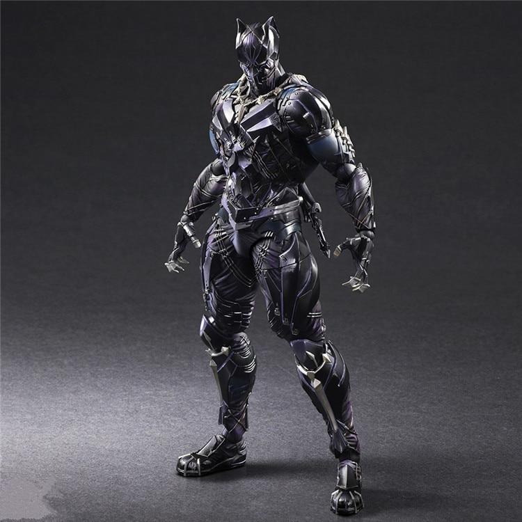 ARTI GIOCO 27 cm Marvel Avengers Black Panther Super Hero Action Figure Model Toy