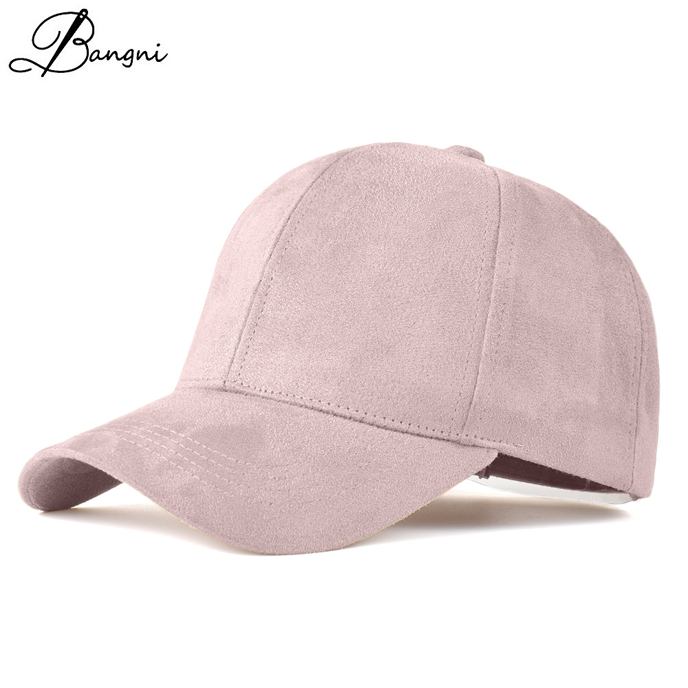 2017 Casual Womens Baseball Cap Women Dad Hat Deus Cap Pink Black Drake Hats Snapback Suede Hip Hop Caps Trucker Cap Men Female