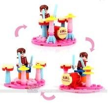 2016 New Anna Girl Blocks Friends Princess Legoed Friend for Girl Minifigures Blocks Building Compatible with Legoes Bricks Toys