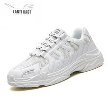 New Summer Mesh Men Sneakers Casual Sport Women Shoes Lace-up Lightweight Comfortable Breathable Walking Running Sneakers недорого