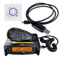 100% Brand New Original TYT VHF UHF TH-7800 Cruz Banda 50 W Longa Distância Dual Band Walkie Talkie Carro