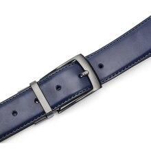 Luxury Reversible Leather Belt