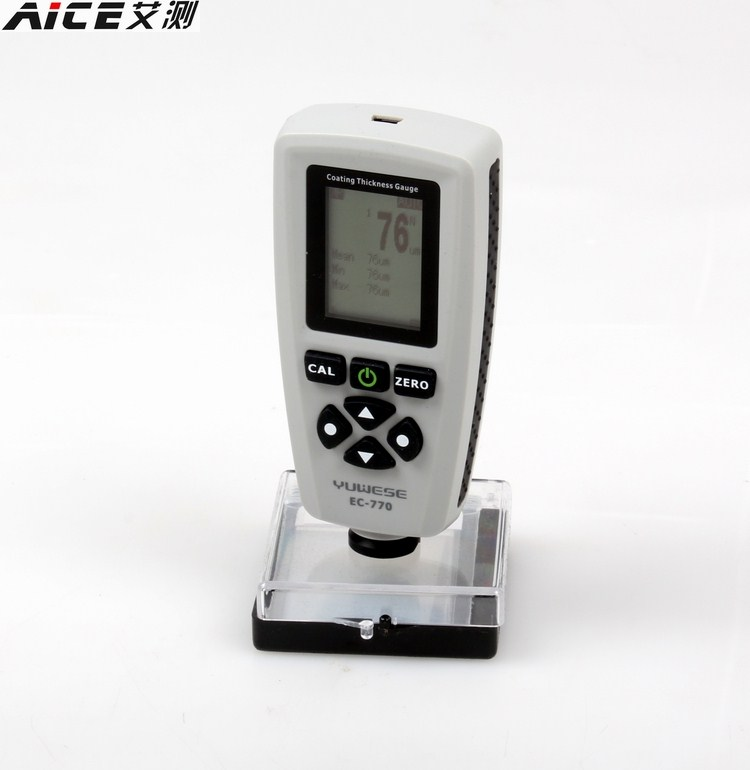 EC770 coating thickness gauge paint thickness tester film thickness meter measuring instrument
