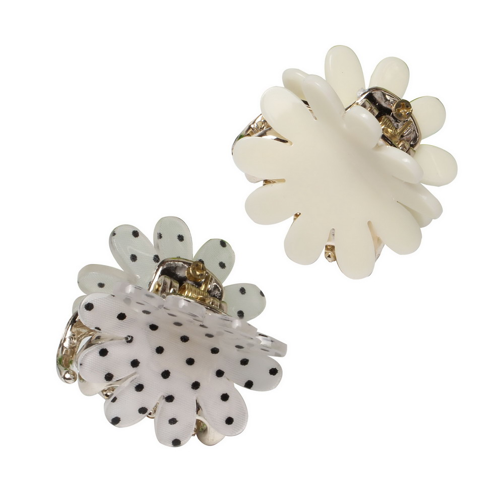 4cm Chrysanthemum Acrylic Hair Claws Simple Strong Crab Hair Clips Clamp Hairpin Decoration Holder   Headwear   for Women Girl