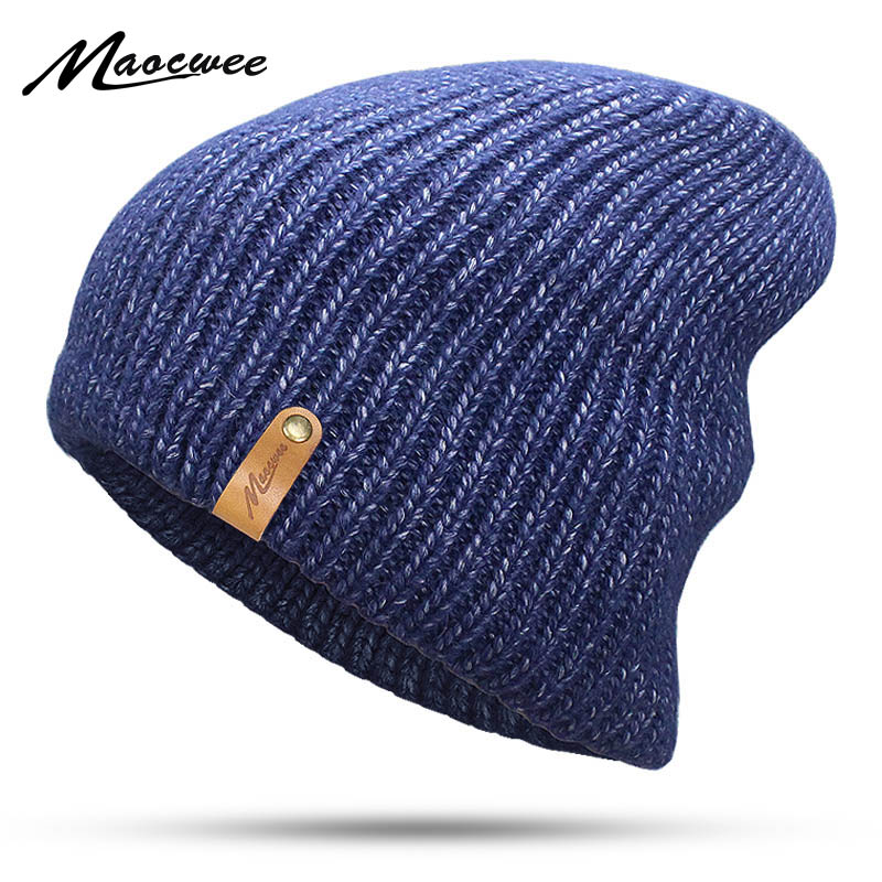 Wool Cap Knitted Hat Winter hat Male Outdoor Ski   Beanies   For Men Women   Skullies     Beanies   Balaclava Mask Gorras Scarf Cap Bonnet