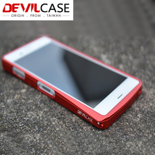 Taiwan DEVILCASE For SONY Z3 Cellphone Metal Bumper Top Grade Aluminum Bumper For Xperia Z3 Factory Direct