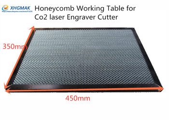 350*450mm aluminum laser honeycomb table honeycomb platform laser machine parts special honeycomb for sheet material фото