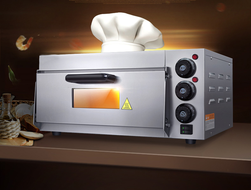 itop pizza oven 2kw commercial electric pizza oven single layer electric baking oven cake - Commercial Pizza Oven