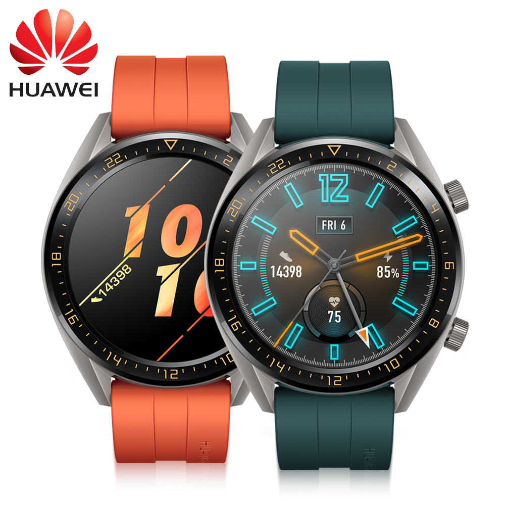 2019 Huawei Watch GT Battery Life Support GPS Elegant vigor For Android iOS 5 ATM water