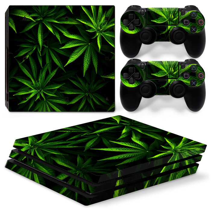 Vinyl Console Controller Skin Sticker For PS4 PRO