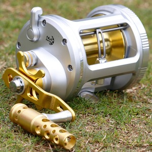 Image 5 - Sougayilang 14+1BB Drum Fishing Reel with Line Counter Aluminum Alloy Fishing Trolling Reel Right Handed Reel Fishing Tackle