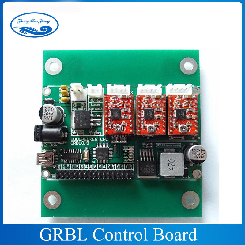 GRBL 0.9J,USB port cnc engraving machine control board, 3 axis control,laser engraving machine board GRBL control electronic blocks diy cnc laser engraving machine control board 3 axis grbl toy parts
