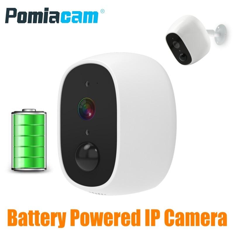 Battery Powered WiFi Wireless Home Security IP Camera PIR Surveillance Camera HD