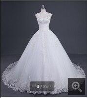 Fashion White Appliques Ball Gown Corset Sexy Winter Wedding Dresses 2015 Straps Sweetheart Neck Cheap Wedding