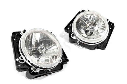 Clear Lens Front Angel Eye Headlight Euro Specification For VW Volkswagen Golf MK2