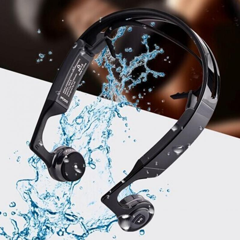 Mix8 Open-ear Bone conduction Bluetooth V4.1 headset outdoor sports wireless Bluetooth headset head-mounted Headphones free shipping original zd100 sports bluetooth headset 4 0 stereo bone conduction bluetooth headset wireless headphones