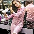 2016 новая весна зима длинный рубашка ночной рубашке сексуальные женщины с длинными рукавами пижамы халаты ночные юбки обслуживание на дому