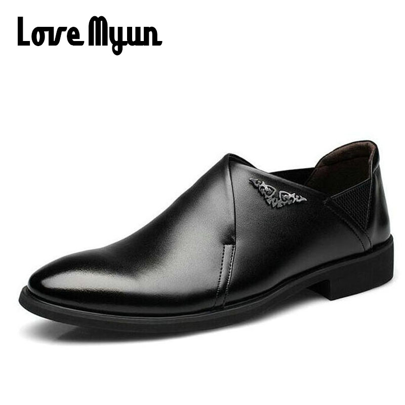 2018 brand new spring men slip on shoes Breathable shoes British style shoes Loafers Genuine leather Flat shoes WA-03 branded men s penny loafes casual men s full grain leather emboss crocodile boat shoes slip on breathable moccasin driving shoes