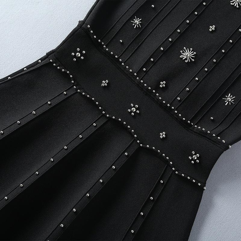 Design Luxe Marque De Nouvelles Robe Mode Style Automne We10742 Haute Européenne 2018 Partie Qualité Femmes vHInx7wzp