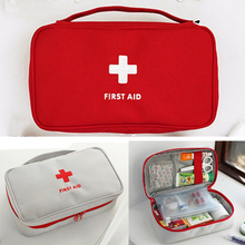 цена на Portable Camping First Aid Kit Empty Emergency Medicine bag Outdoor Survival Travel set First Aid Bag Household Storage package