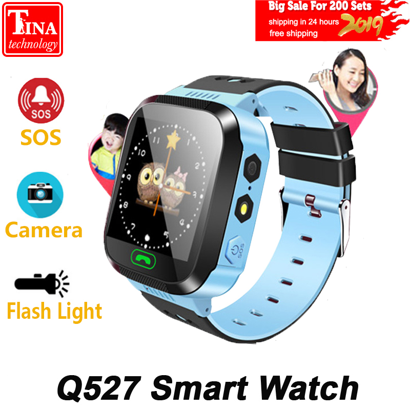 100% Original Q527 Child Baby Smart Watch Touch Screen