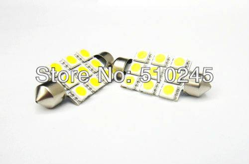500X 31mm 36mm 39mm 42mm Car led festoon light 5050SMD 9 LED SMD 9SMD Auto led bulbs