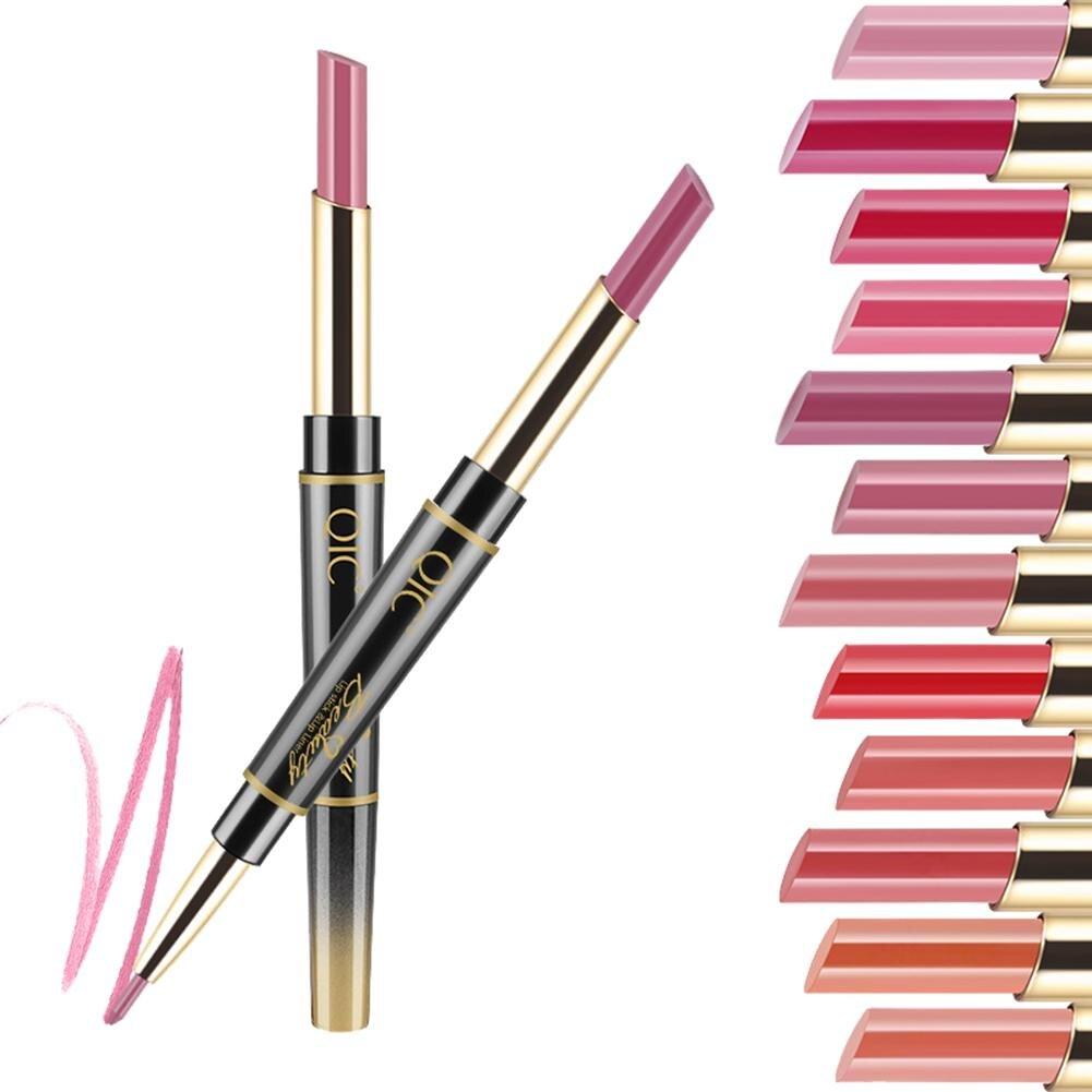 Lnrrabc 12colors New Professional 12colors Waterproof Lasting Long Moisturizer Nutritious Charming Lip Gloss Professional Design Makeup