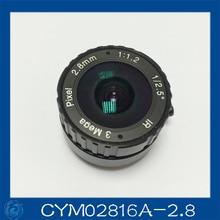 3MP. cctv camera lens 2.8mm Fixed Iris lens, 1/2.5″ cs mount F1.2 for Security Camera, Free shipping