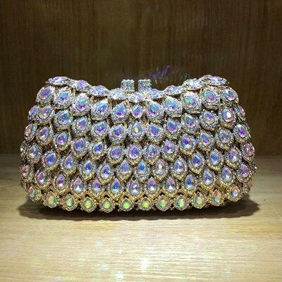 Bridal Clutch Wedding-Handbag Cocktail-Wallet Purse Party-Prom Women Luxury Graduation Сумка