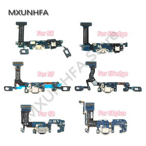 Image 1 - USB Charger Charging Dock Port Connector Flex Cable For Samsung Galaxy S6 S7 edge S8 S9 plus G920F G925F G930F G935F G950F G955F